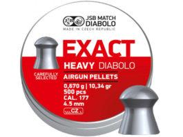 Diabolo JSB Exact Heavy 0,67g 4,52 500pcs
