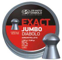 Diabolo JSB Exact Jumbo 1,03g 5,52 500pcs